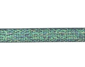 grijs elastiek met glitterdraad