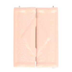 klemgesp roze metaal 40 mm voor het maken van een ceintuur