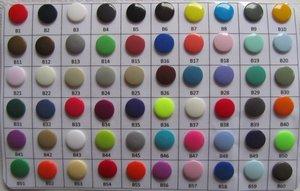 Kleurenkaart snaps/ mat