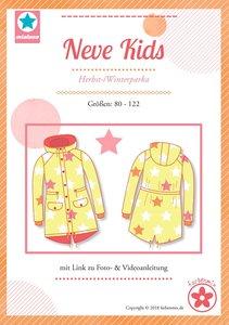 NEVE Kids, een parka voor herfst en winter maat 80 t/m 122