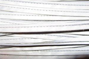 stevig reflecterend paspelband, effen zilver