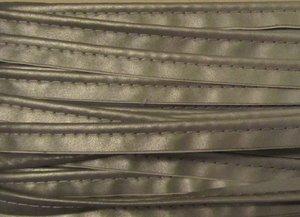 reflecterend paspelband, effen zilver