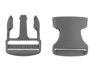 klikgesp grijs kunststof 38 mm