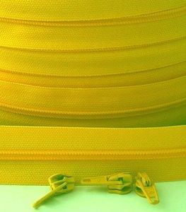 rits aan de meter, geel 4mm