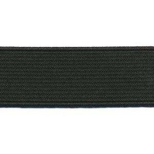 elastiek zwart 2,5 cm