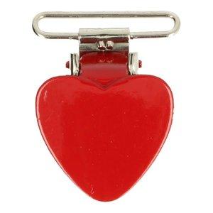 bretelclip hartje voor band 25 mm