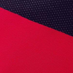 Borax = dunne softshell mooi warm rood: wind-, waterdicht en ademend!