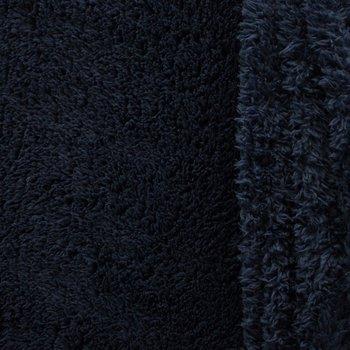 doubleface teddy-fleece diepdonkerblauw