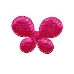 vlinder fuchsia 35 x 25 mm