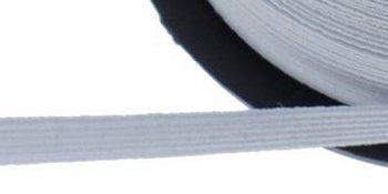 plat elastiek 5 mm wit