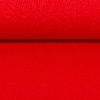 Heike: fijne boordstof  rood