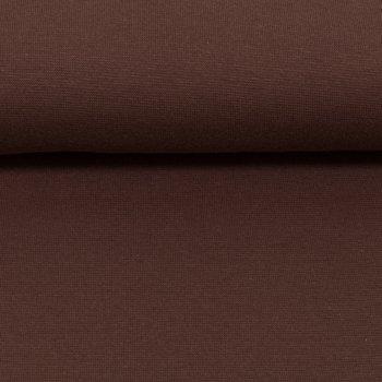 Heike: fijne boordstof bruin