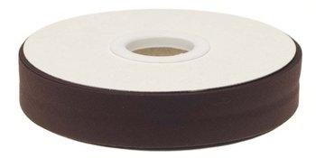 biaisband 20 mm, donkerbruin