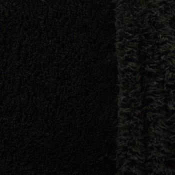 doubleface teddy-fleece zwart
