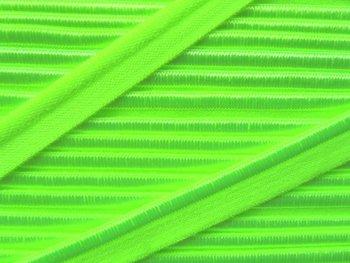 elastisch paspelband, neonlichtgroen