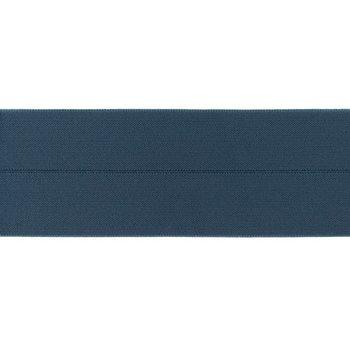 omvouwelastiek 6 cm breed, heerlijk zacht: jeanskleur