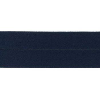 omvouwelastiek 6 cm breed, heerlijk zacht: marine