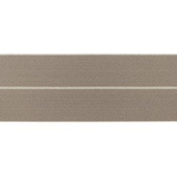 omvouwelastiek 6 cm breed, heerlijk zacht: taupe