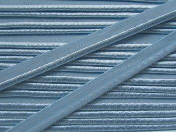 elastisch paspelband, duifgrijzig lichtblauw