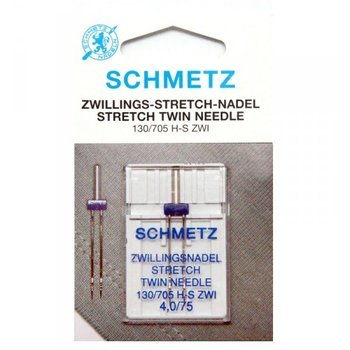 Schmetz stretch twin 4.0/75