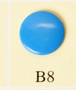 minisnaps helderblauw glanzend