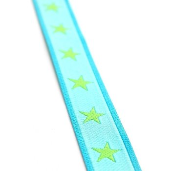 sterrenband :turquoise-lime