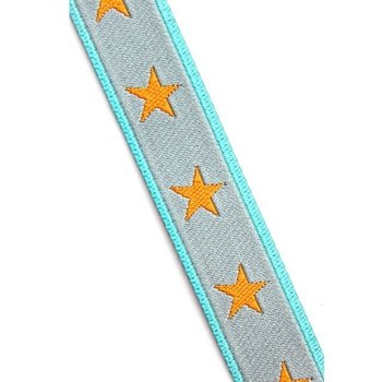 sterrenband : grijs-oranje