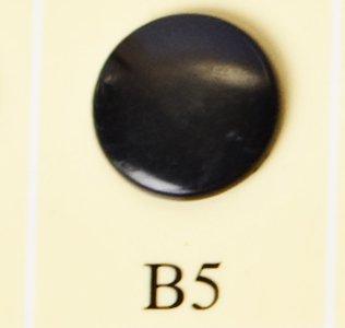 minisnaps zwart glanzend