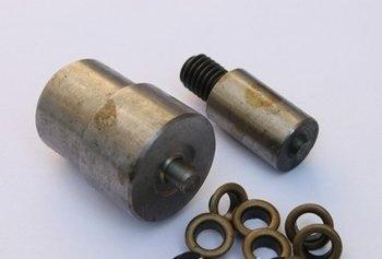 opzetstukken voor zeilringen 10 mm voor pers DK93