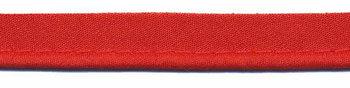 paspelband rood katoen/polyester