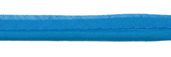 paspelband turquoise met 4mm dik koord