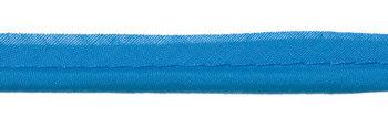 paspelband turquoise katoen/polyester