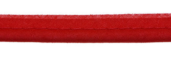 paspelband rood met 4mm dik koord