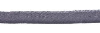 paspelband grijs met 4mm dik koord