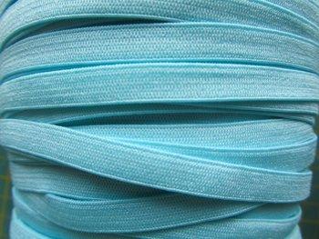 0,6 cm elastiek licht-turquoise