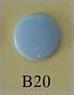 minisnaps lichtblauw glanzend