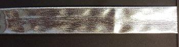biaisband 15 mm zilver