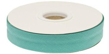 biaisband 20 mm, groenig turquoise/zeeblauwgroen