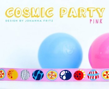 Cosmic Party pink, sierbandje