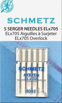 Schmetz EL (cover)locknaalden 2 x 80, 3 x 90