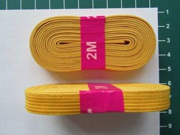 bosje elastiek 1 cm breed, maisgeel