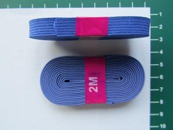 bosje elastiek 1 cm breed blauw