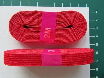 bosje elastiek 1 cm breed: rood