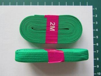 bosje elastiek 1 cm breed: groen
