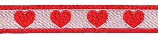 hartjesband rood