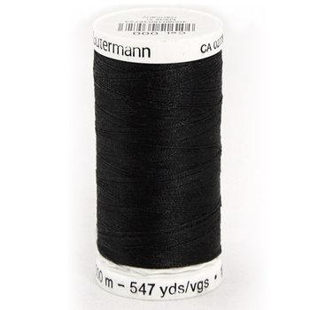 Gütermann allesnaaigaren 500 meter kleur zwart nr 000