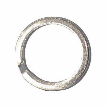 sleutelring metaal 30mm plat