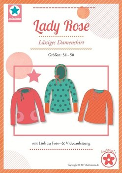 Lady Rose, confortabel shirt voor dames