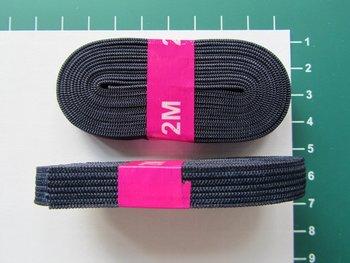 bosje elastiek 1 cm breed: marine