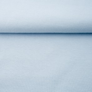 fijne boordstof lichtblauw 70 cm rondgebreid